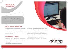 TRIANGULUS NF-e - Config Soluções Tecnológicas