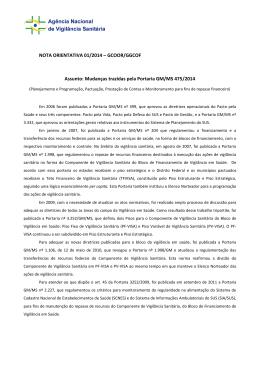 NOTA ORIENTATIVA 01/2014 – GCOOR/GGCOF Assunto