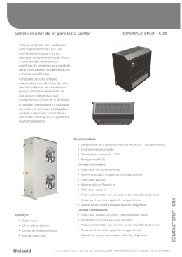 (Catalogo Climatiza\347\343o Data Center CDX)