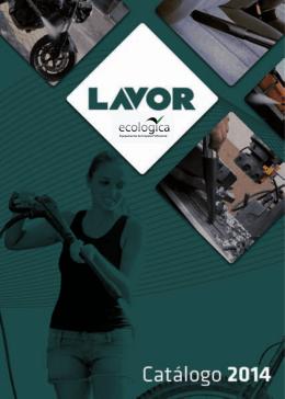 Catálogo da Linha Lavor Pro