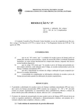 RESOLUÇÃO N.º 27
