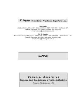 Vetor Consultoria e Projetos de Engenharia Ltda.