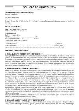 Bula Paciente - Fresenius Kabi Brasil
