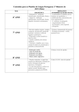 Língua Portuguesa - Studium Ensino Fundamental