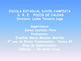 Profª. Evanilda Maria Messias Martins