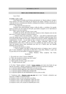 """MOTORISTA CNH """"D"""" PROVA DE CONHECIMENTOS GERAIS Leia"""