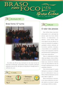 O valor das pessoas - Empresa de Transportes Braso Lisboa