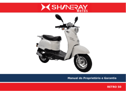 RETRô 50 - Shineray Motos