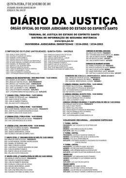 Word Pro - 27012011.lwp - Tribunal de Justiça do Espírito Santo