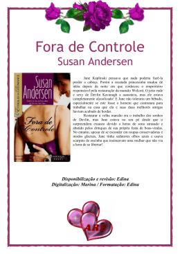 Susan Andersen - Fora de Controle