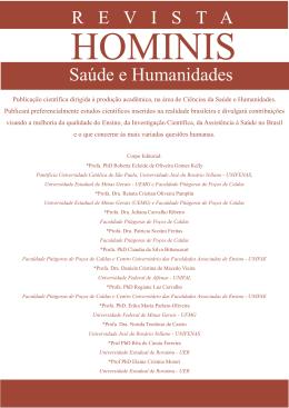 Revista Hominis 2 - Faculdade Pitágoras
