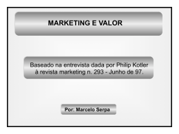 KOTLER _ Marketing e Valor 1997