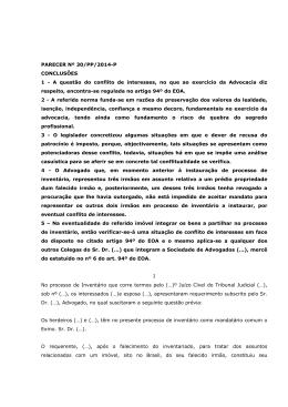 Parecer n.º 30-PP/2014-P