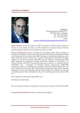 CV António Vitorino pdf | 60 kb