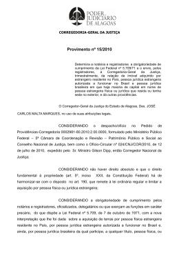 arquivo - Tribunal de Justiça do Estado de Alagoas