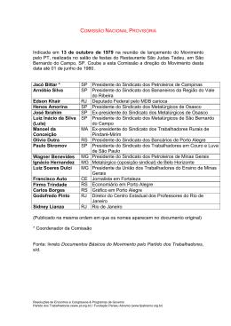 Comissão Nacional Provisória