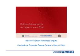 Políticas Educacionais na Espanha e no Brasil