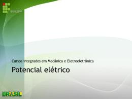 3. Potencial elétrico