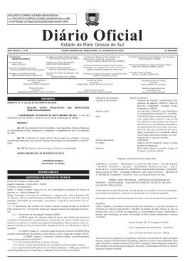Diário Oficial n. 7.779