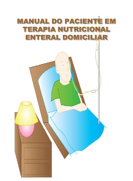 MANUAL DO PACIENTE EM TERAPIA NUTRICIONAL - CRN-8