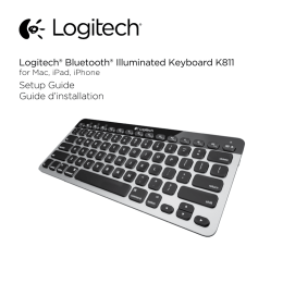 Logitech® Bluetooth® Illuminated Keyboard K811 Setup Guide