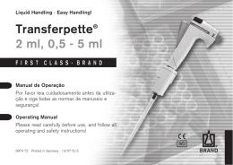 Transferpette® 2 ml, 0,5 - 5 ml