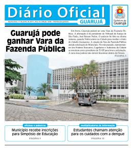 Guarujá pode ganhar Vara da Fazenda Pública
