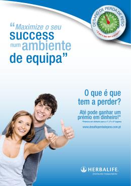 """ambiente de equipa"""" success """" - Desafio de Perda de Peso"""