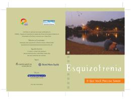 ESQUIZOFRENIA - Folheto - Fênix