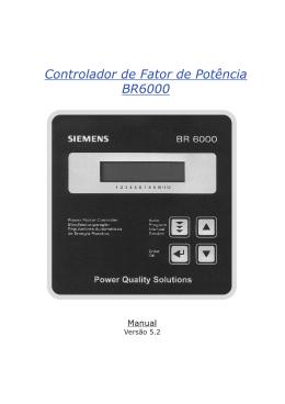 Controlador de Fator de Potência BR6000