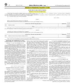 a Portaria MPOG nº 97, publicada no DOU de 09/10/2012