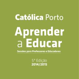APRENDER A EDUCAR - Professores e Educadores