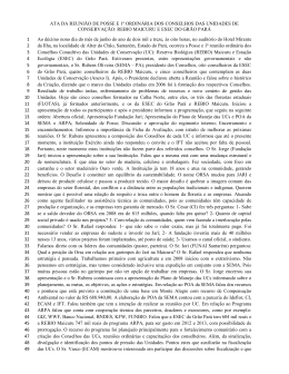 ATA 1ªreunião ordinária_REBIO e ESEC