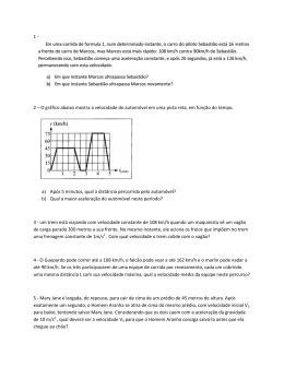 Exercícios de revisão, parte 1