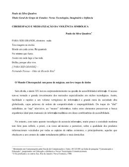Paulo da Silva Quadros Título Geral do Grupo de Estudos