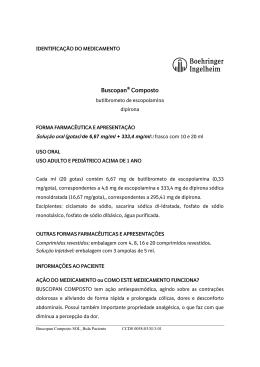 Buscopan® Composto - Boehringer Ingelheim