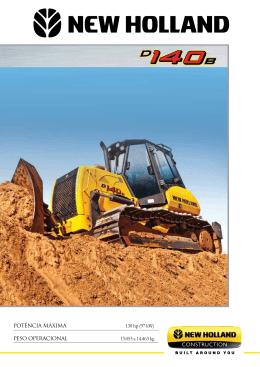 Potência MáxiMa 130 hp (97 kW) Peso oPeracional 13.053 a