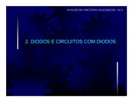 2. DIODOS E CIRCUITOS COM DIODOS