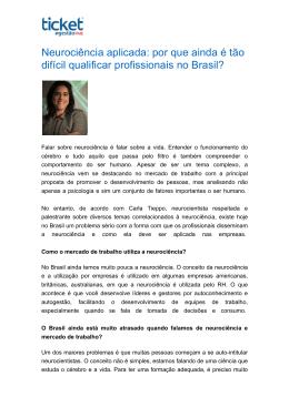 por que ainda é tão difícil qualificar profissionais no Brasil?