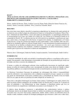 id:1077 aplicação da técnica de geoprocessamento na prática