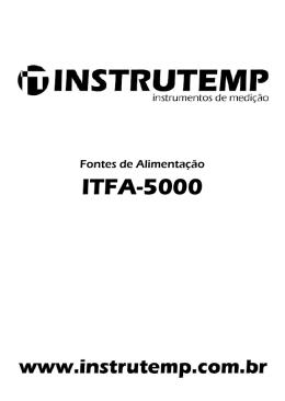 ITFA-5000 - instrutemp.provisorio.ws