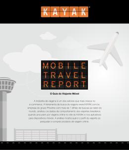 O Guia do Viajante Móvel A indústria de viagens é um dos