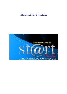 Manual de Usuario do Start Plus