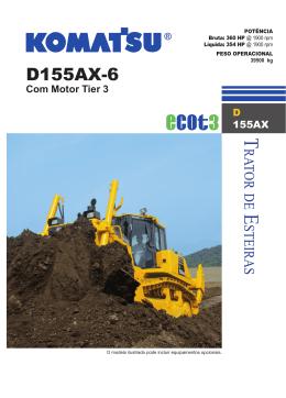 D155AX-6 - Komatsu do Brasil