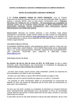 Edital - projetoarrematar.com.br