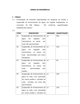 TP 21/2014 - Termo de Referência