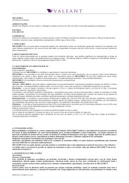 MELLERIL® cloridrato de tioridazina APRESENTAÇÕES