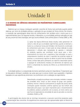 Unidade II - Ambiente Virtual de Aprendizado