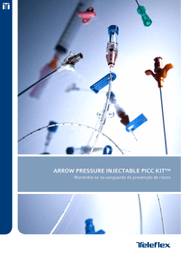 arrOw PressUre iNjeCtable PiCC Kit™