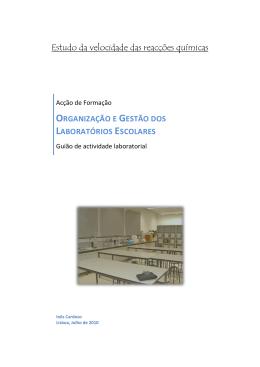 Organização e Gestão dos Laboratórios Escolares